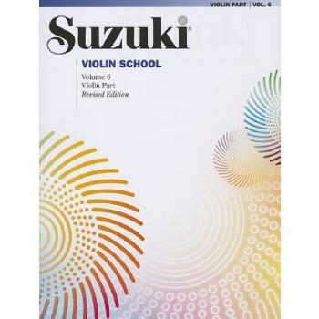【预订】Suzuki Violin School 预订商品,需要1-3个月发货,非质量问题不接受退换货。