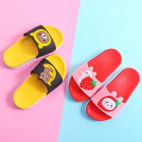 夏季儿童拖鞋男宝宝凉托鞋女童可爱小公主亲子防滑软底中大童居家