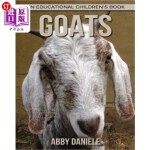 【中商海外直订】Goats! An Educational Children's Book about Goats w