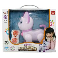 1-3岁宝宝女孩会唱歌跳舞儿童玩具智能机器狗猫遥控小狗男孩