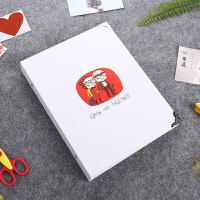 生日卡手绘本diy相册手工创意情侣浪漫自制纪念册情人节礼物