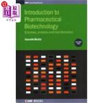【中商海外直订】Introduction to Pharmaceutical Biotechnology, Volum