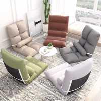 懒人榻榻米床上靠背女生可爱卧室单人飘窗小沙发折叠椅子