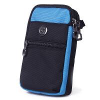 手机腰包男手机套防水户外运动腰带多功能手机袋竖款挂包女