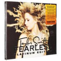 Taylor Swift泰勒斯威夫特专辑Fearless放手去爱CD DVD白金庆功版