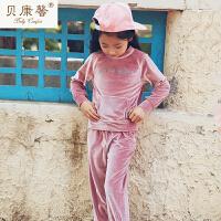 [当当自营]贝康馨秋装 儿童字母运动套装