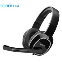 漫步者 EDIFIER USB K815 �W生�W�n耳�� �^戴式��X耳�C 在�教育�W��力�υ�耳�C 黑色