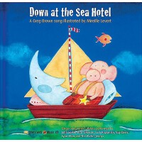 【预订】Down at the Sea Hotel: A Greg Brown Song [With CD]