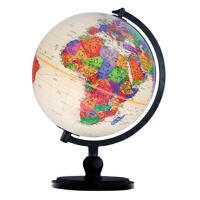【TH】博目地球仪:32cm中英文仿古地球仪(炫影黑架) 北京博目地图制品有限公司 测绘出版社 97875030348