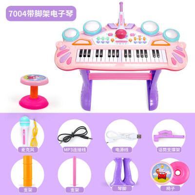 儿童电子琴玩具 小女孩初学1-3岁音乐多功能宝宝钢琴玩具