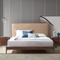 【一口价】 简奢风范大气起居,现代实木软包床