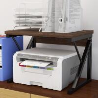 【限时3折】置物架家用办公打印机架子多层复印机架办公桌主机箱收纳架
