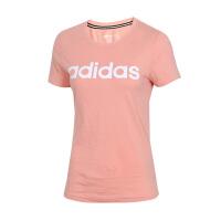 Adidas阿迪达斯 女装 NEO运动休闲透气短袖T恤 DW7946