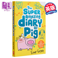 【中商原版】The Super Amazing Diary of Pig 猪猪日记2 英文原版 进口图书 插画小说 7-