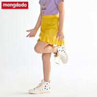 【2件2折折后价33.8】巴拉巴拉balabala巴拉巴拉旗下梦多多女童半身裙夏装2019新款洋气短裙纯棉蓬蓬裙子