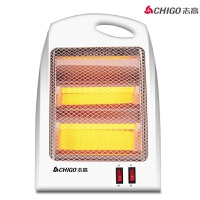 志高(CHIGO)电暖器/取暖器/电暖气小金刚 家用办公用台式快热B5 白色