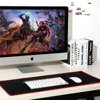 电竞游戏鼠标垫加长锁边电脑笔记本办公家用