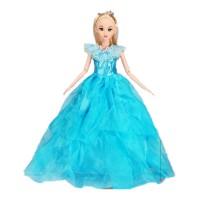 芭比娃娃女孩公主12关节套装过家家女童玩具儿童礼物单个洋娃娃 P 送配饰4件套