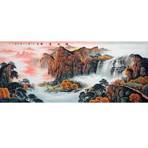 中国美协会员,中国书协会员,龙云书画院院长侯桂峰(鸿运当头2)17