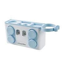 挤牙膏神器全自动置物架 浴室按压式免打孔 卫生间牙膏壁挂挤压器