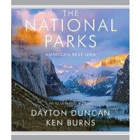 英文原版 PBS纪录片 北美国家公园全纪录 官方纪念册 摄影图集 The National Parks: Americ