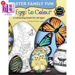 【中商海外直订】45 Eggs to Colour - Easter Colouring - Easter Famil