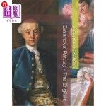 【中商海外直订】Casanova: Part 23 - The English: Large Print