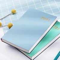 计划表日程本2021年每日计划本时间管理365天周月计划表时间轴效率手册自律打卡本学习工作日历记事本可定制