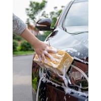 洗车海绵专用大号强力去污擦车吸水海绵块高密度棉汽车美容用品