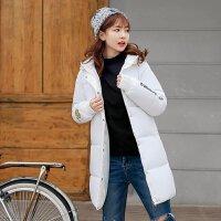 棉衣女中长款韩版冬季宽松面包服bf加厚女学生外套
