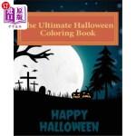 【中商海外直订】The Ultimate Halloween Coloring Book: 39 High Quali