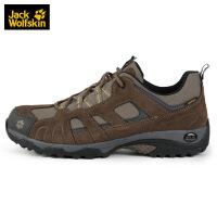 Jack Wolfskin/狼爪男女鞋新款�敉獾巧叫�防水透�膺h足徒步鞋4011381-4088