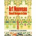 Art Nouveau Stencil Designs in Color(【按需印刷】)