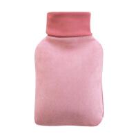 毛绒热水袋注水式加暖宫暖水袋女大号防爆暖手袋灌水暖手宝