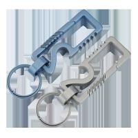 钛合金钥匙扣汽车钥匙挂件男士钥匙圈环个性创意钥匙链多功能情侣