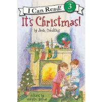 It's Christmas! 圣诞节到了!(I Can Read,Level 3)ISBN 978006053708