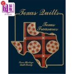 【中商海外直订】Texas Quilts: Texas Treasures