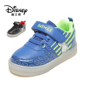 鞋柜/迪士尼秋时尚休闲童鞋魔术贴男童鞋