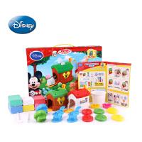 迪士尼3D打印泥 打印机套装儿童彩泥橡皮泥无毒不干玩具 泥不变干 细腻无味 3D打印