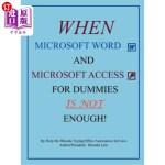 【中商海外直订】When Microsoft Word and Microsoft Access for Dummie