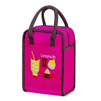 保温便当包加厚铝箔装饭盒袋带饭菜的手提包牛津布餐点水果野炊包