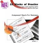 【中商海外直订】52 Weeks Of Practice: A Four Topic A Week Organizin