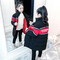 儿童棉衣加厚2018新款韩版女孩中大童棉服冬季外套