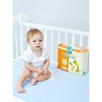 隔尿垫婴儿一次性宝宝新生儿童小号防漏防水护理纸尿片非纯棉可洗
