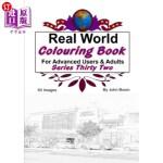 【中商海外直订】Real World Colouring Books Series 32