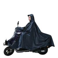 踏板车摩托车雨衣 超大踏板摩托车雨衣加大加厚雨披双人单人防水 XXXXL