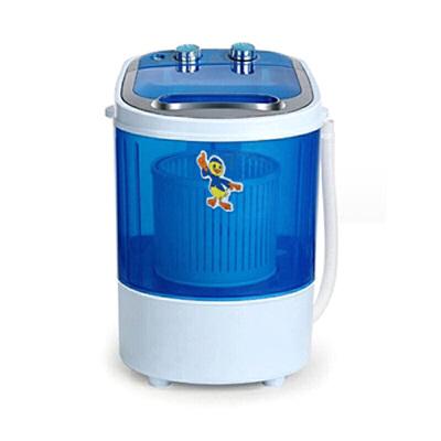 便携洗衣机 微型洗衣器方便实用迷你洗衣机小型半自动单筒家用便携洗甩一体机