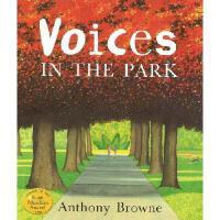 【现货】Voices in the Park 英文原版 公园里的声音 (当乃平遇上乃萍) 安东尼布朗绘本 平装
