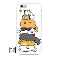 苹果iphone7plus手机壳卡通日韩可爱宠物8p软壳猫咪6s防摔X保护套