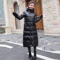羽绒服女中长款冬季女士过膝超长加厚女式韩版 160/84A S